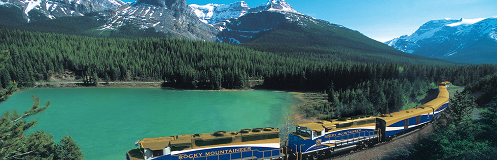 Alaska & Rocky Mountaineer Train