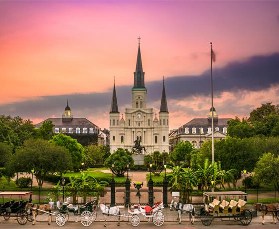 New Orleans Stay & Caribbean Cruise