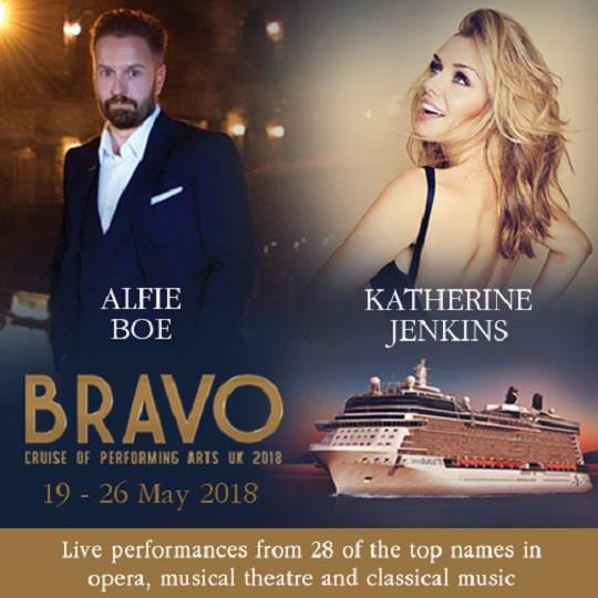 Bravo - a cruise of the performing arts 2018