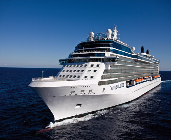 The Celebrity Solstice - cruisesheet.com