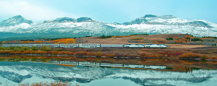 Amtrak - Empire Builder, USA