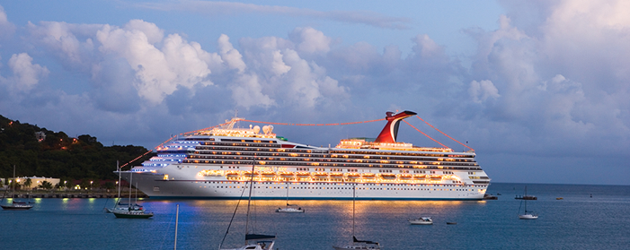 Carnival Cruises Carnival Valor Exterior