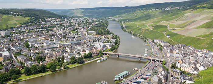Bernkastel-Kues At The River Moselle