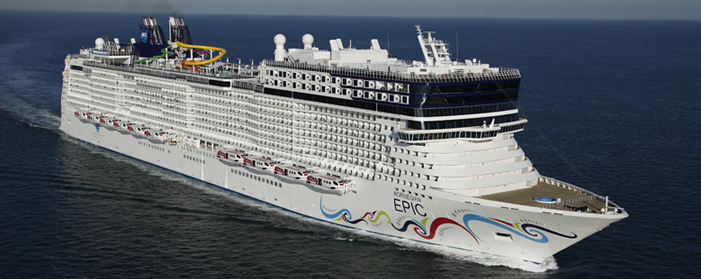 Norwegian Cruise Lines Norwegian Epic Exterior