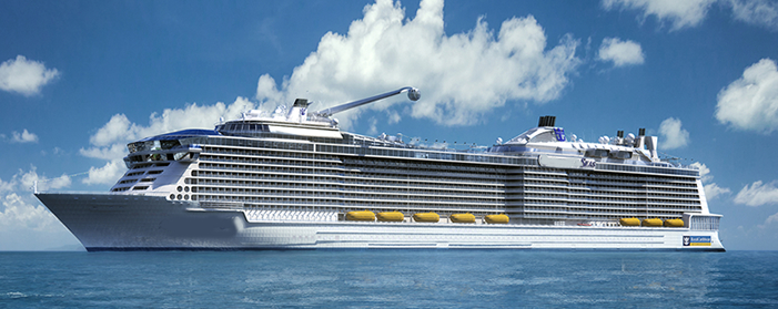 Anthem Of The Seas From Southampton Royal Caribbean