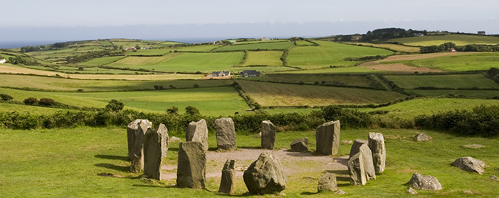 Stone Circle at Drombeg, Ireland