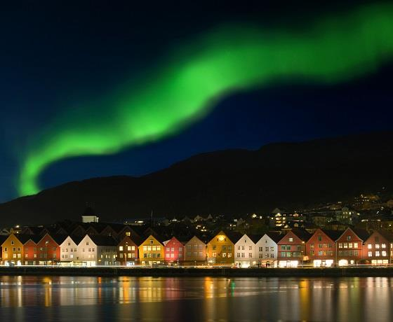 Journey to the Northern Lights or Midnight Sun