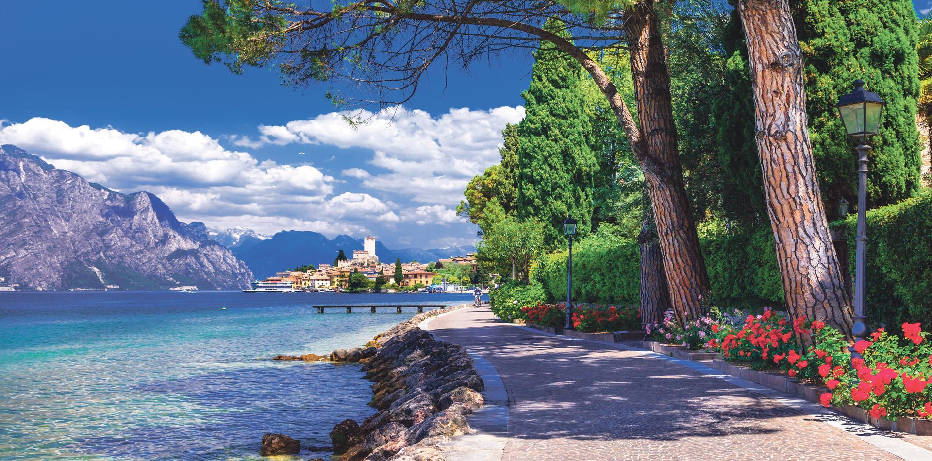 Lake Garda Stay & Holy Land & Ancient Kingdoms Cruise (RP)