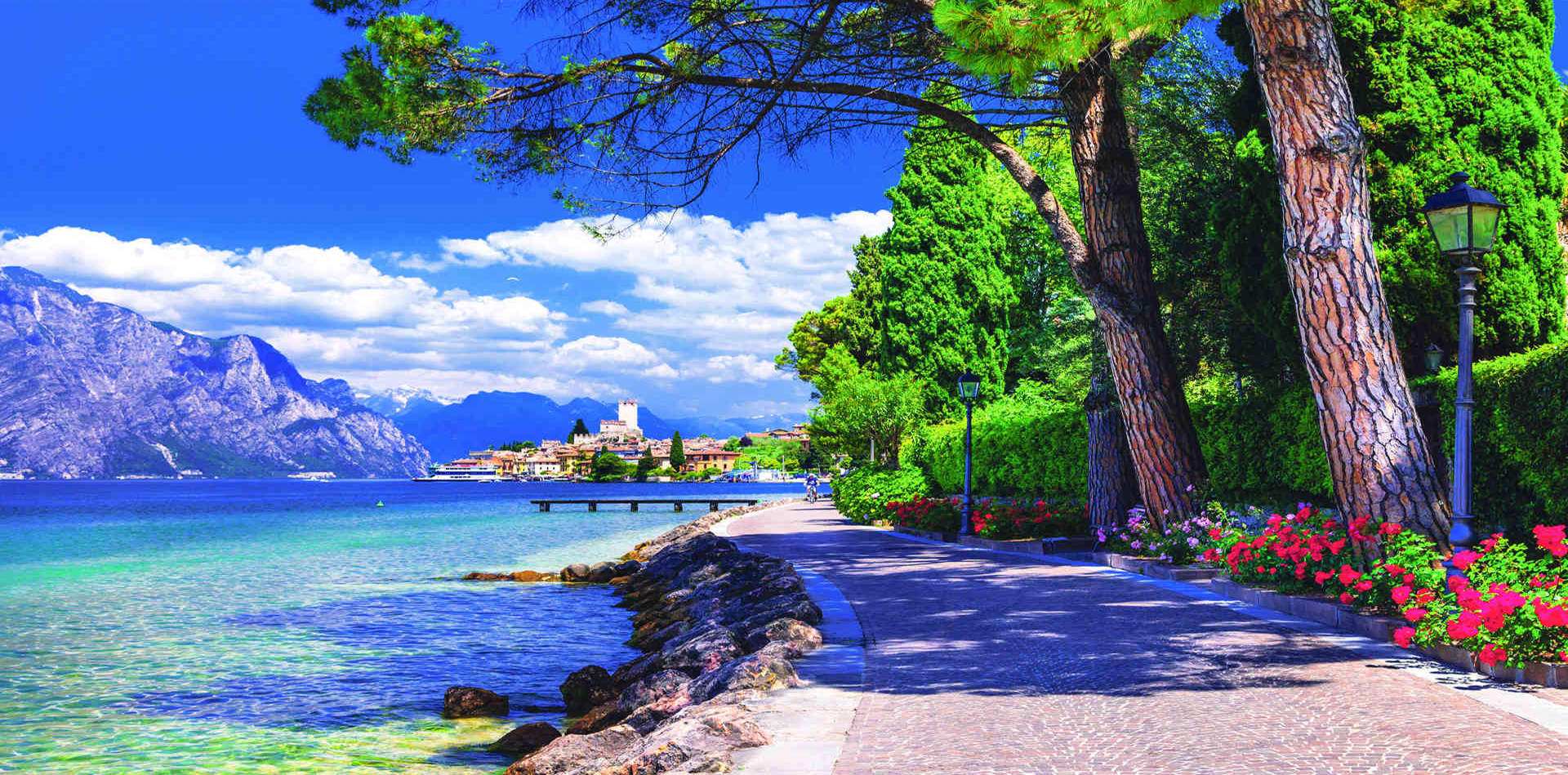 Lake Garda,  Venice & The Greek Isles